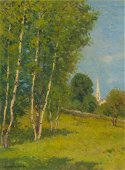 CHARLES WARREN EATON (AMERICAN, 1857-1937) NEW ENGLAND