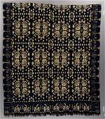 CATTARAUGUS CO., NEW YORK DATED DOUBLE WEAVE COVERLET