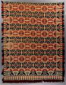 LANCASTER CO., PENNSYLVANIA SIGNED AND DATED JACQUARD