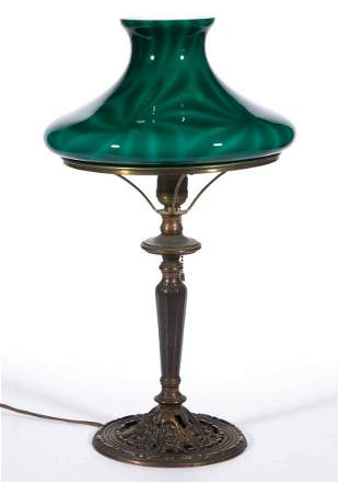 EMERALITE PINWHEEL DESIGN TAM-O-SHANTER LAMP SHADE