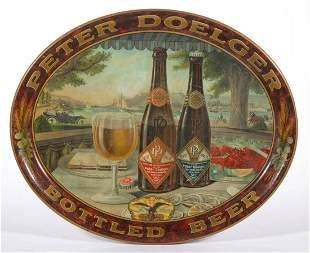 PRE-PROHIBITION PETER DOELGER BOTTLED BEER TIN