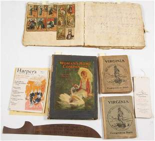 ASSORTED EPHEMERA AND OTHER ARTICLES, UNCOUNTED LOT