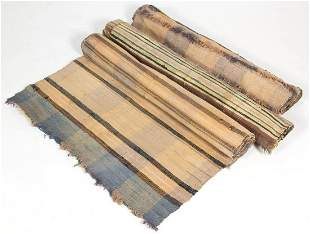SHENANDOAH VALLEY OF VIRGINIA WOVEN RAG RUNNERS, LOT OF