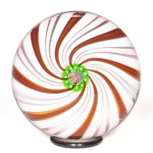 PARABELLE GLASS CLICHY-STYLE SWIRL STUDIO ART GLASS