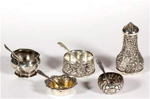 S. KIRK & SONS AND OTHER AMERICAN STERLING SILVER SALT