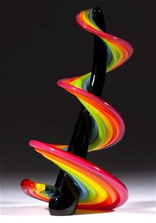 VITRIX HEECHEE SERIES STUDIO ART GLASS SCULPTURE