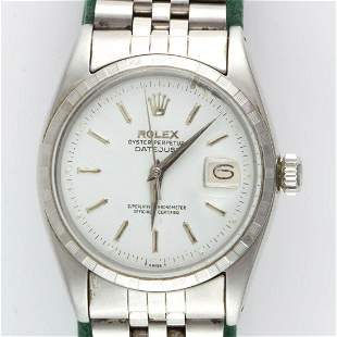 VINTAGE ROLEX OYSTER PERPETUAL DATEJUST STAINLESS STEEL