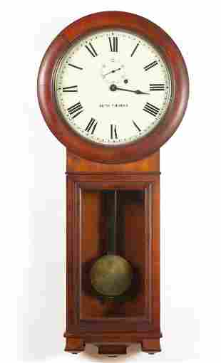 SETH THOMAS NO. 2 REGULATOR WALL CLOCK