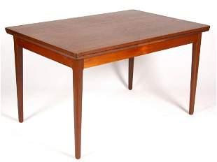 DANISH MID-CENTURY MODERN TEAKWOOD EXTENSION TABLE