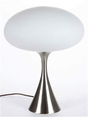 LAUREL LAMP CO. MID-CENTURY MODERN MUSHROOM TABLE LAMP