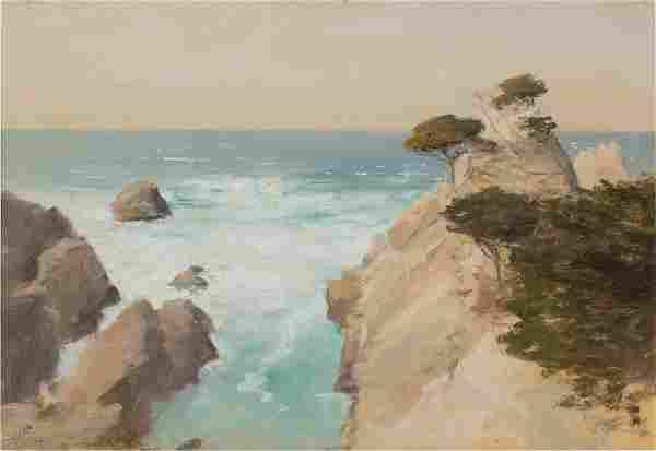 LOCKWOOD DE FOREST (AMERICAN, 1850-1932) CALIFORNIA