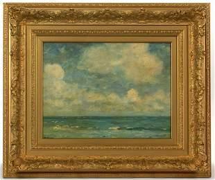 HENRY WARD RANGER (AMERICAN, 1858-1916) SEASCAPE