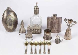 TIFFANY & CO. AND OTHER STERLING, 0.800 SILVER, AND