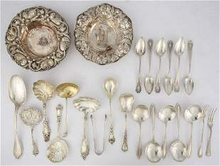 WHITING MFG. CO. AND OTHER AMERICAN STERLING SILVER
