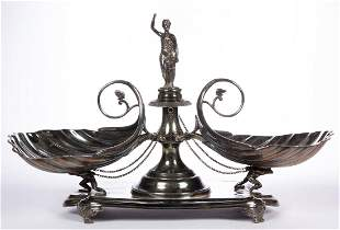WILCOX SILVER PLATE CO. VICTORIAN SILVER-PLATED