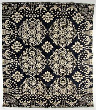 """NEW YORK ATTRIBUTED """"INDEPENDENCE"""" DATED DOUBLE WEAVE"""