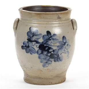 PENNSYLVANIA DECORATED STONEWARE JAR