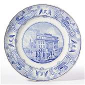 STAFFORDSHIRE AMERICAN HISTORICAL TRANSFER-PRINTED