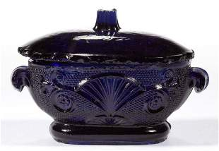 PRESSED LACY SMALL TOY COVERED TUREEN