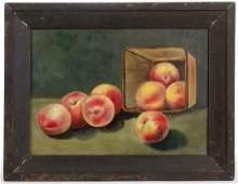 AMERICAN SCHOOL (19TH CENTURY) FOLK ART STILL-LIFE
