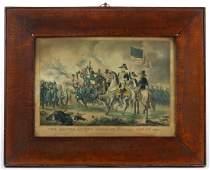 N. CURRIER AMERICAN HISTORICAL PRINT