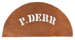 PETER DERR (BERKS COUNTY, PENNSYLVANIA 1793-1868)