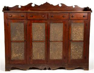 VALLEY OF VIRGINIA WALNUT AND CHERRY PUNCHED-TIN