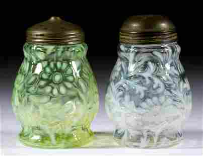 DAISY AND FERN - WIDE-WAISTED SUGAR SHAKERS, LOT OF TWO