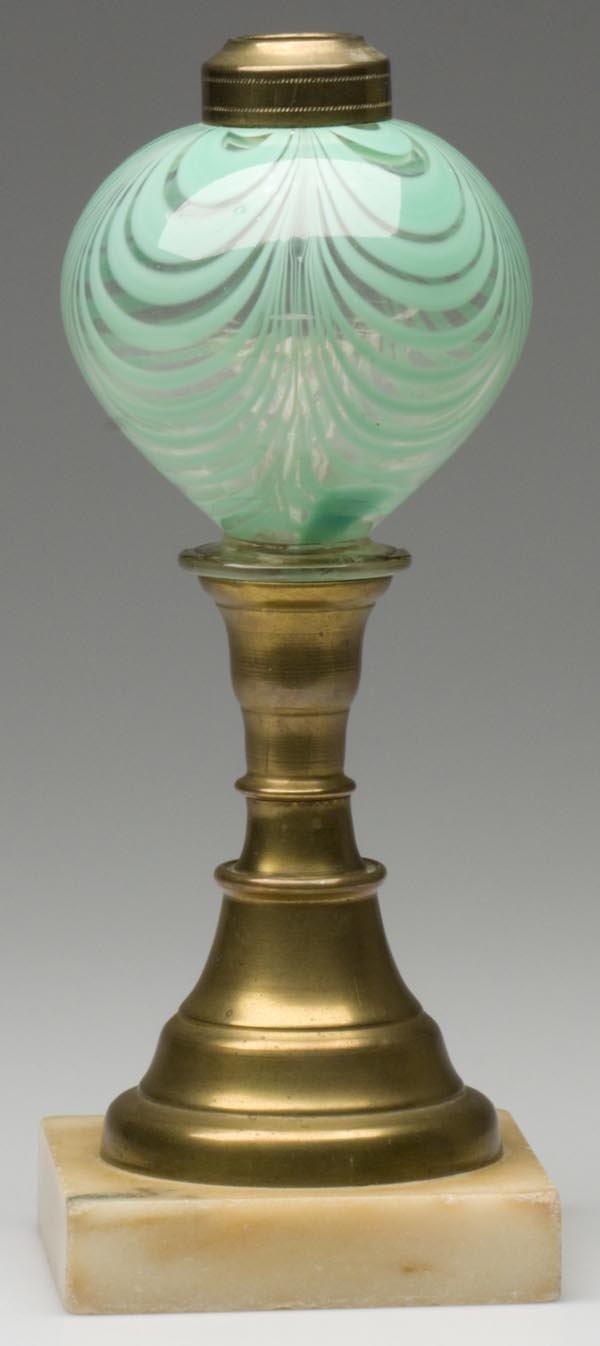 6: MARBRIE LOOP STAND LAMP
