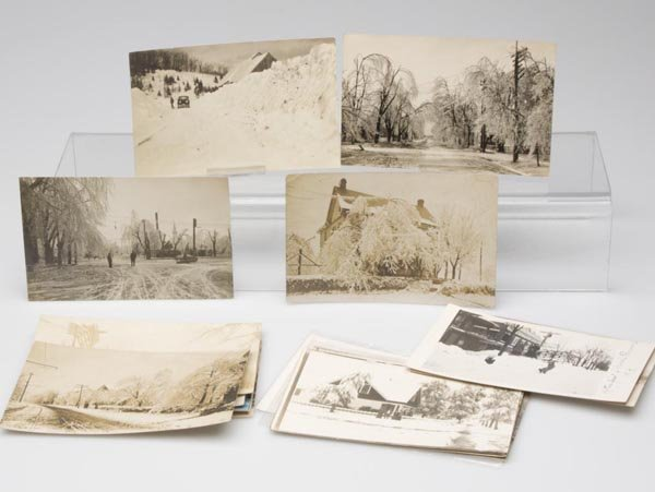 8: DISASTER / WINTER WEATHER REAL PHOTO POST CARDS, LOT