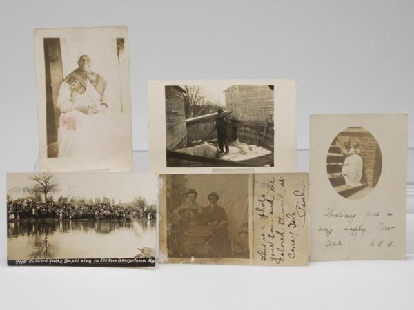 24: BLACK AMERICANA REAL PHOTO POST CARDS, LOT OF FIVE