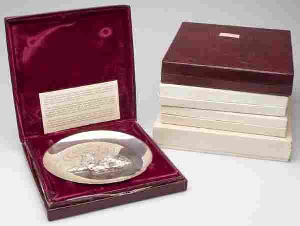 FRANKLIN AND LINCOLN MINT HOLIDAY STERLING SILVER