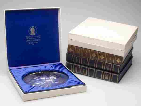 FRANKLIN AND HAMILTON MINT ASSORTED STERLING SILVE