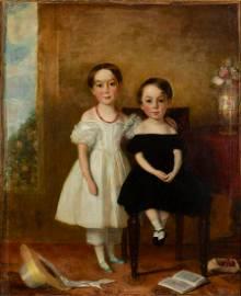 AMERICAN OR BRITISH SCHOOL (19TH CENTURY) FOLK ART