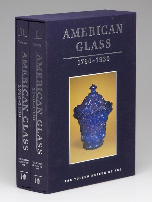 2: AMERICAN GLASS REFERENCE, TWO VOLUME SET