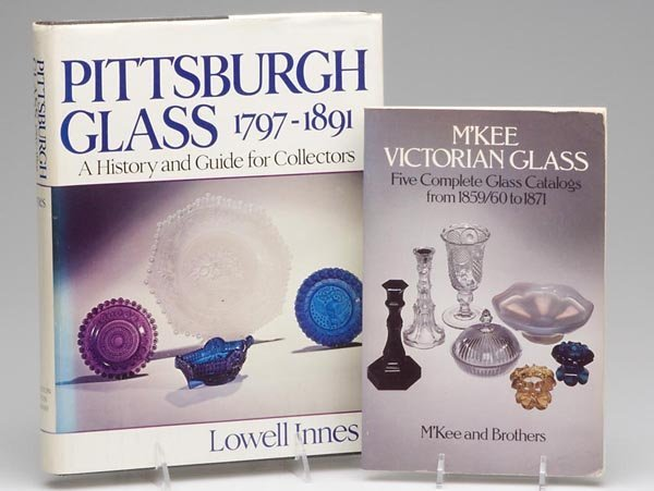 3: PITTSBURGH GLASS REFERENCE VOLUMES, LOT OF TWO