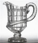 BAKEWELL WAFFLE AND SNAKE WATER PITCHER