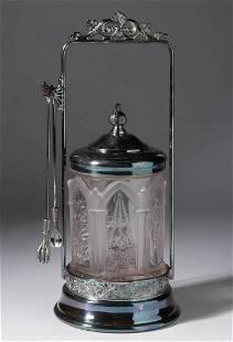 NATIONAL GLASS NO. 100 (OMN) / HANGING BASKET PICKLE