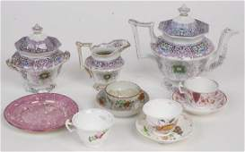 448 STAFFORDSHIRE TRANSFERWARE AND OTHER ENGLISH CERAM