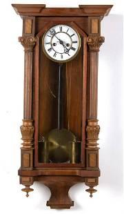 VIENNA TWO-WEIGHT REGULATOR WALL CLOCK