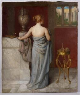 AUGUSTUS GOODYEAR HEATON (AMERICAN, 1844-1931) PORTRAIT