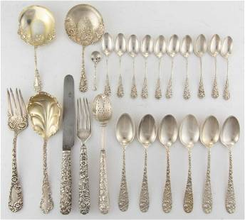 REED & BARTON AND OTHER STERLING SILVER FLATWARE, LOT