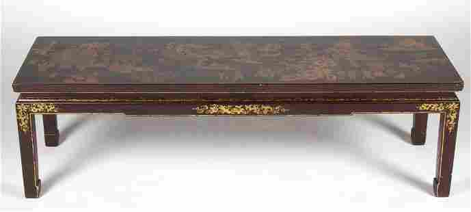 CHINESE LACQUER COFFEE TABLE