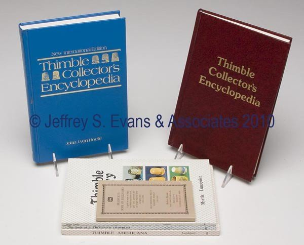14: THIMBLE REFERENCE VOLUMES, LOT OF SIX