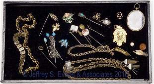 441 ASSORTED LOT OF VICTORIAN JEWELRY
