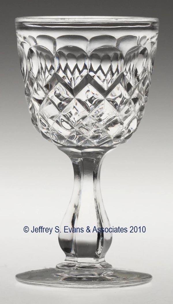 655: BAKEWELL BLOCK WINE GLASS