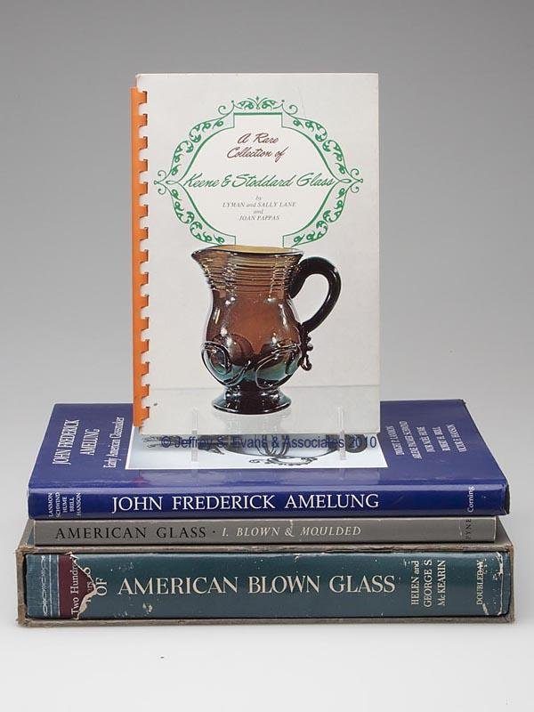 2: FOUR AMERICAN BLOWN GLASS REFERENCE VOLUMES