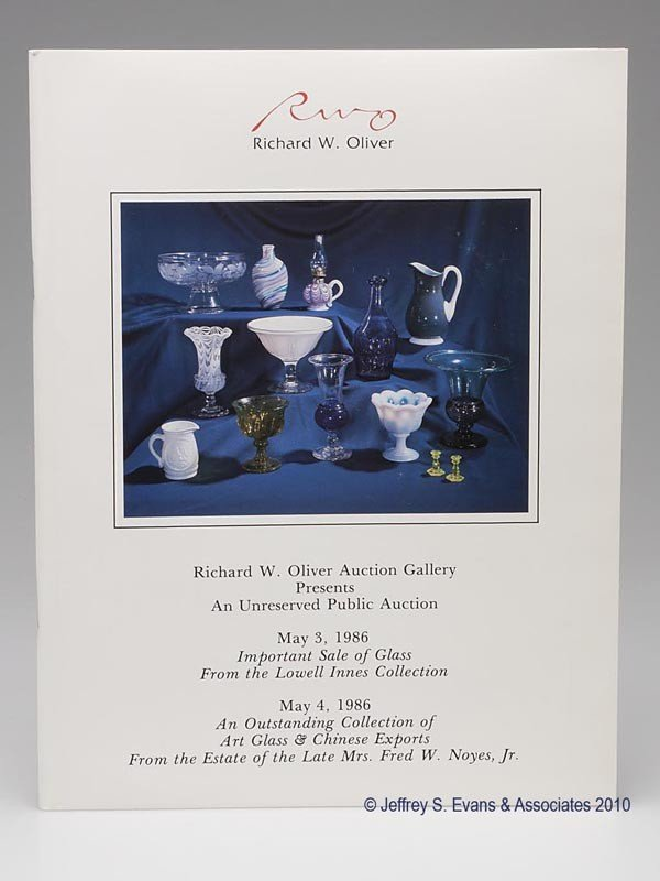 4: LOWELL INNES AUCTION CATALOGUE