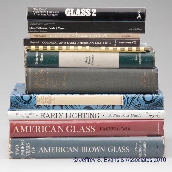 6: ELEVEN AMERICAN GLASS AND LIGHTING REFERENCE VOLUMES