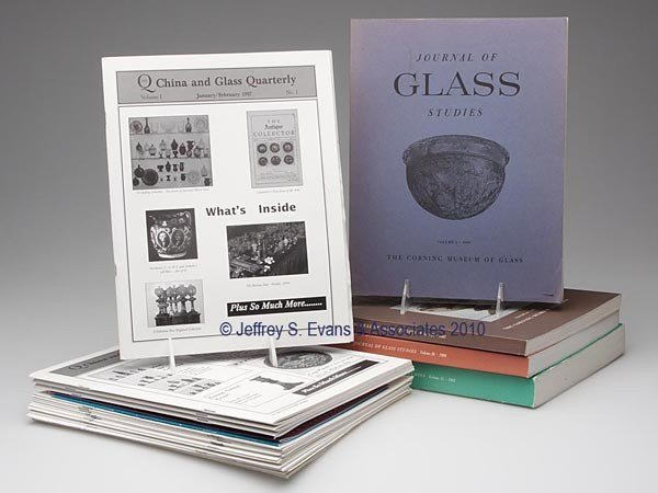 7: LOT OF ASSORTED GLASS JOURNALS AND BULLETINS
